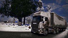 Euro Truck Simulator 2 Scania Kirli Skin – Dirty Skin