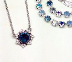 Swarovski Crystal 12MM Pendant  Designer Inspired by CathieNilson