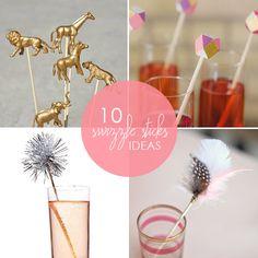 10 festive and fun DIY swizzle sticks from Babble.com