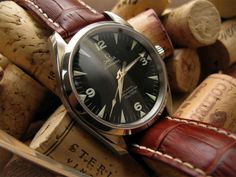 Omega Railmaster - Online Pin board for Men - Dudepins - Man up. Sign up. Pin up #omega #watch
