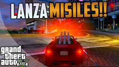 GTA 5 ONLINE - NUEVO COCHE LANZAMISILES, IMPRESIONANTE!!!
