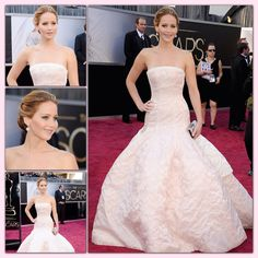 Jennifer Lawrence's Oscar look: I love this dress