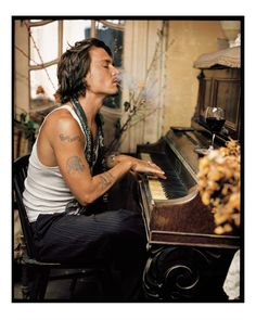 Johny Depp ( by Marc Seliger )