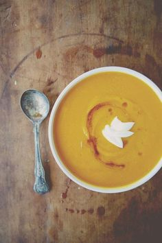 Brown Butter Butternut Squash Soup Recipe | http://aol.it/1sVaewY