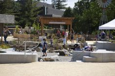 Various playgrounds/learning centers