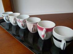 vintage restaurant ware demitasse cups by SaltwaterTriageVin, $20.00