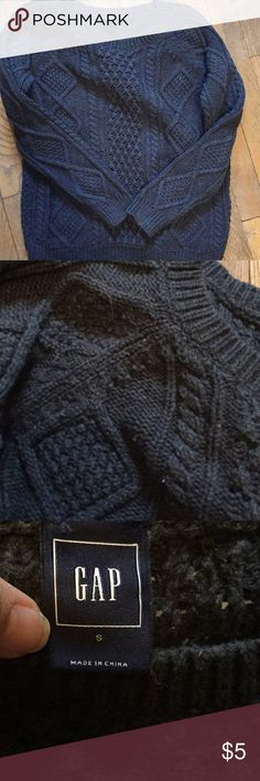 Gap gray cable knit sweater Cozy GAP Sweaters