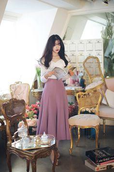 #milkcocoa daily 2017 feminine& classy look