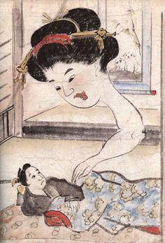 "From ""Inou mononoke roku emaki"" / ""Inou picture book of Mononoke"", ca. 1860"