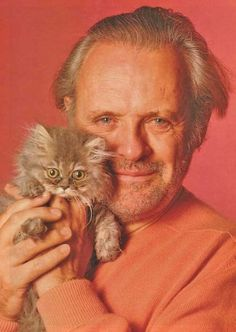 A Cuddly Image of Sir Anthony Hopkins