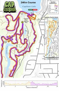 Cap Crusher - Coast Mountain Trail Running Mountain Trails, Trail Running, Coast, Challenges, Racing, Running, Auto Racing, Cross Country Running, Treadmill