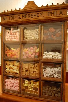 CANDY~from Mr. Hershey's original candy store by Christina Saull, via Flickr