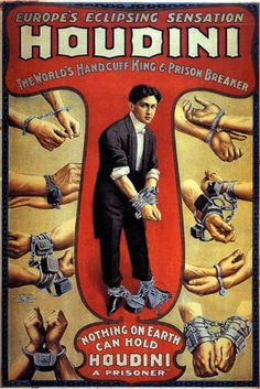 Harry Houdini (born Erik Weisz, later Ehrich Weiss or Harry Weiss; March 24, 1874 – October 31, 1926) was a Hungarian-born American magician and escapologist, stunt performer, actor, film producer, and aviator noted for his sensational escape acts.