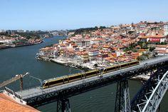 Porto, vista da Serra do Pilar.