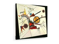 Wassily Kandinsky -  In the Black Square - 1923 #Wassily #Kandinsky #weewado #wassily #kandinsky #bauhaus #geometry