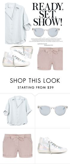 """Ready, set. Show!"" by grassgrvsk ❤ liked on Polyvore featuring Sun Buddies, Dorothy Perkins and Philippe Model"