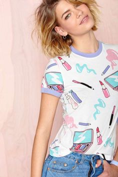 Lazy Oaf Let's Make Out Shirt