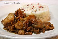 La cucina di Any: Pollo allo zenzero e salsa di soia - Pui cu ghimbir si sos de soia