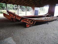 Haida Lootaas ~ Haida Heritage Centre, Haida Gwaii.