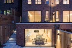floor to ceiling #minimalwindowsslidingdoors installed to a luxury two unit development in #London