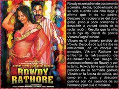 Cine Bollywood Colombia: ROWDY RATHORE