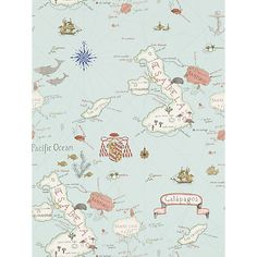 Buy Sanderson Galapagos Wallpaper Online at johnlewis.com