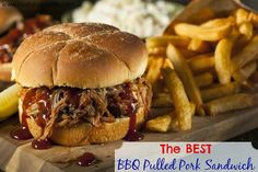 The Best BBQ Pulled Pork Sandwich - Easy Slow Cooker Meals