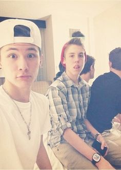 Carter Reynolds and Matthew Espinosa ahh