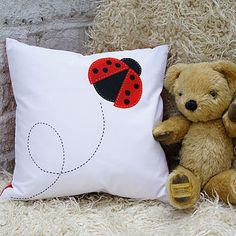 Ladybird - Creature Cushion