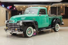 eBay: 1953 Chevrolet Other Pickups Frame Off, Nut & Bolt Restored, 5-Window Pickup! 216ci I6 Engine, 3-Speed Manual #classiccars #cars