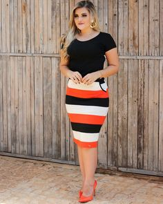 Mom Outfits, Casual Outfits, Cute Outfits, Fashion Outfits, Womens Fashion, Pencil Skirt Outfits, Looks Plus Size, Work Attire, Business Fashion
