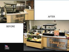 New Berlin School in WI transformed their Commons Café with Merchandising that increased sales and participation in their program.