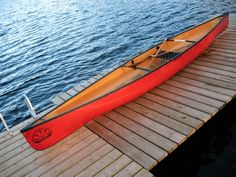 Awesome solo paddling canoe - and super light! Souris River Canoes Tranquility