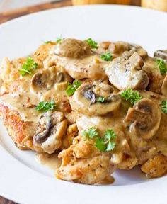 Chicken Marsala...YUM!  I will be using 4 chicken breasts instead of one since the recipe has lots of sauce.  I may also scale back just alittle on the Marsala since it is pretty strong.  Just keep the amount of breadcrumbs to a minimum and you have a perfect low carb meal.  Enjoy :  ) @mariellabrownp