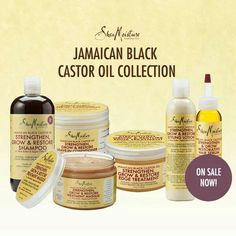 Shea Moisture Jamaican Black Castor Oil Collection... Haven't tried this collection yet, but it's on my list!