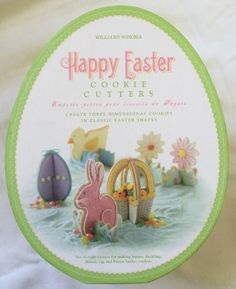 Squawkin egg droppin hen from hallmark review and giveaway williams sonoma easter 3d cookie cutters 8 pieces bunny duck flower egg basket negle Image collections