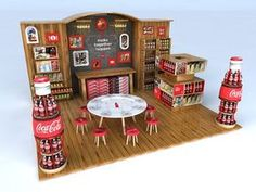 Coca-cola + Food l EEUU on Behance Más #DisplayStands