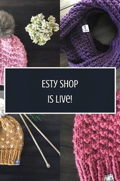 My Etsy Shop Is Officially Up And Snowcityknits - Knit Scarves Crochet Scarves, Crochet Hats, H Cosplay, Christmas Rose, Best Friendship, Beanie Pattern, My Socks, Cozy Blankets, Knitting Socks