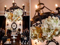 Elegant Halloween Inspired Engagement Party Ideas