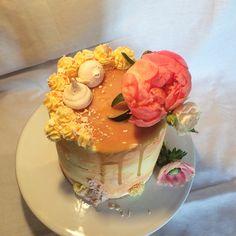 Caramel and Vanilla Cake by Tessa Cakes
