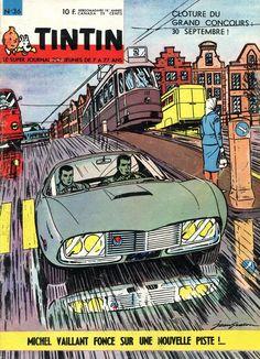 Le Journal de Tintin - Edition Belge - N°  885 - 1963-36 - Mardi 3 Septembre 1963 - Couverture : Jean Graton