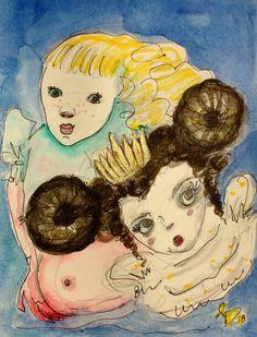 Little Princess, Saatchi, Artworks, Anime, Painting, Painting Art, Cartoon Movies, Paintings, Anime Music