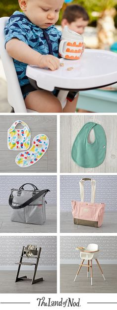 From high chairs to diaper bags, we've got the baby essentials you need to parent like a pro.