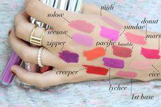 New Colour Pop Ultra Matte Liquid Lipsticks + 1 Million Lip Swatches | All The Best Beauty