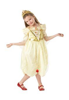 Junior Disney Belle Sparkle Costume - A Stuff4fun Fancy Dress Costume