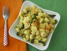 Bright Vegetable Pasta on Weelicious