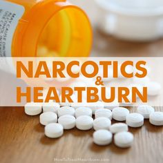 Narcotics like morphine and oxycontin increase heartburn and other acid reflux symptoms by causing esophageal dysfunction, slowed digestion, and vomiting. Gerd Symptoms, Reflux Symptoms, How To Treat Heartburn, Alkalize Your Body, Acid Reflux Recipes, Essential Oils For Anxiety, Gastroesophageal Reflux Disease, Acid Reflux Remedies, Ulcerative Colitis