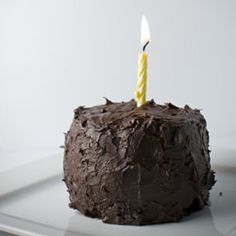 "A personal birthday cake, there are tons of ""small batch"" recipes on this site!"
