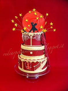 DANCING WITH THE STAR CAKE- by Red Carpet Cake Design