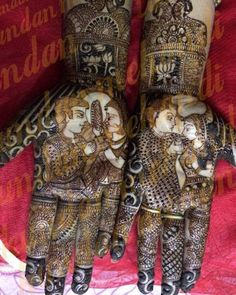 20 Unique Karva Chauth Mehndi designs: Let's Get Dressed Mehndi Tattoo, Henna Mehndi, Henna Art, Mehendi, New Mehndi Designs, Mehandi Designs, Karva Chauth Mehndi Designs, Mehndi Images, Bridal Henna